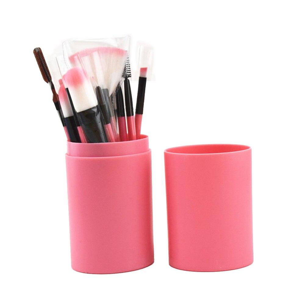 1 Set Professnial Women Makeup Brushes Soft / 12pcs Face Makeup Tool