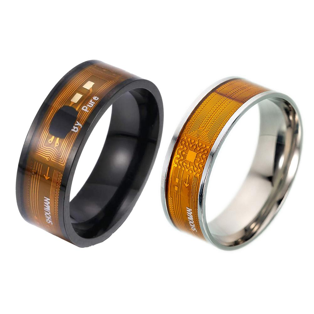 Wearable Smart Ring New Technology Magic Finger Rings Support All NFC Functions Smartphones Finger Jewelry Smart Accessories