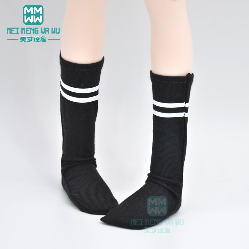 Accesorios para muñecas, calcetines negros de palanca compatibles con 1/3 1/4 1/6 BJD DD SD MYOU YOSD GEM,XAGADOLL