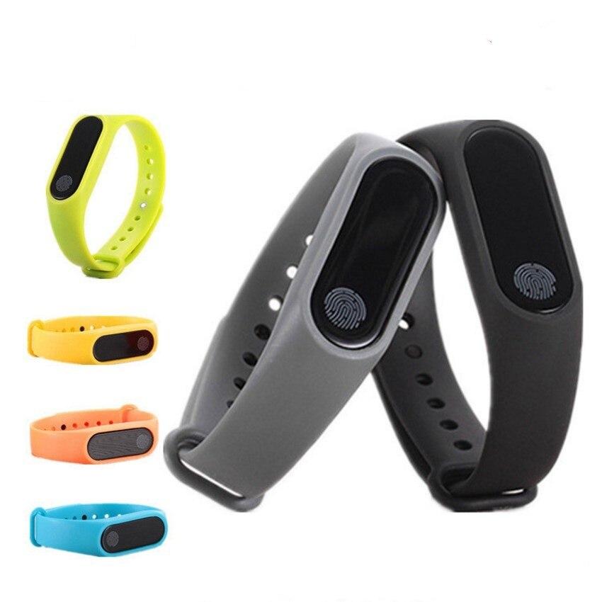 M2 Waterproof Smart Watch Bracelet Black Blue Green Red Fitness Tracker Bluetooth Call kids men silicon sport SmartWatch
