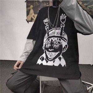 Vintage Junji Ito T-Shirts women T Shirt Tomie Japanese Kago Manga Horror Harajuku long Sleeve Tees Gift Clot