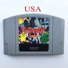 High USA PAL Quality Customer Cartridge Pok Stadium Kaizo Card for 64 Bit  Video Game Console