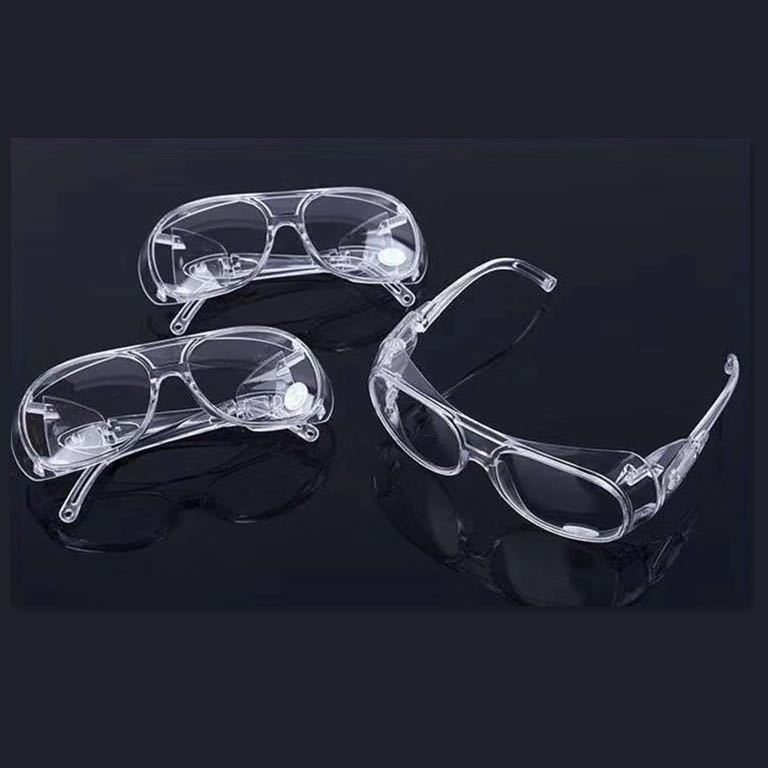1PCS Transparent Safety Goggles Protective Safety Glasses Anit-Splash Eyewear Clear Workplace Safety Goggles Anti-dust Supplies