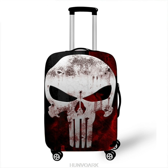 Чехол для чемодана с супергероями Марвел, 18-32 дюйма, чехол для костюма, чехлы для чемодана на колесиках, пылезащитный чехол, аксессуары для путешествий