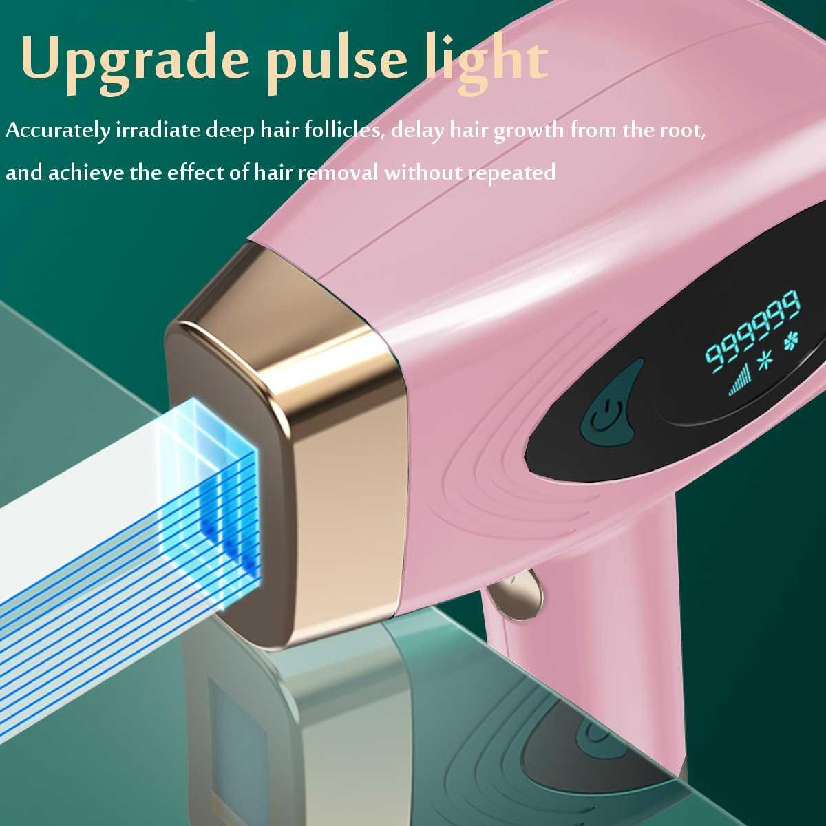 990000 IPL Epilator Hair Removal LCD Display Machine Laser Permanent Bikini Trimmer Electric depilador a laser enlarge