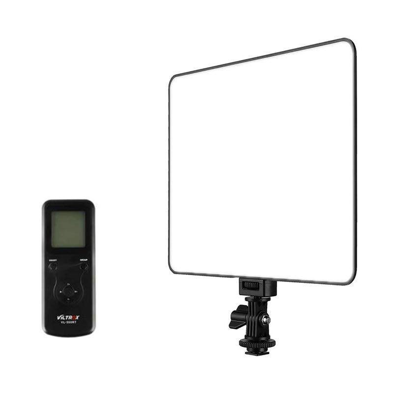 Viltrox VL-200T profissional ultra-fino led luz de vídeo 5600 k dupla-cor fotografia preenchimento luz brilho ajustável para canon
