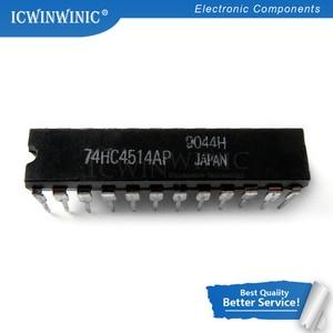5PCS MC74HC4514N 74HC4514AP DIP-24 74HC4514 DIP24 CD74HC4514EN DIP 74HC4514N