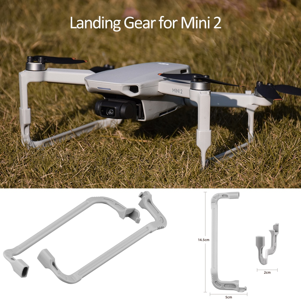 Extended Landing Gear for DJI Mavic Mini 2 Drone Portable Support Leg Stabilizer Protector for Mini 2 Multifunctional Accessory недорого