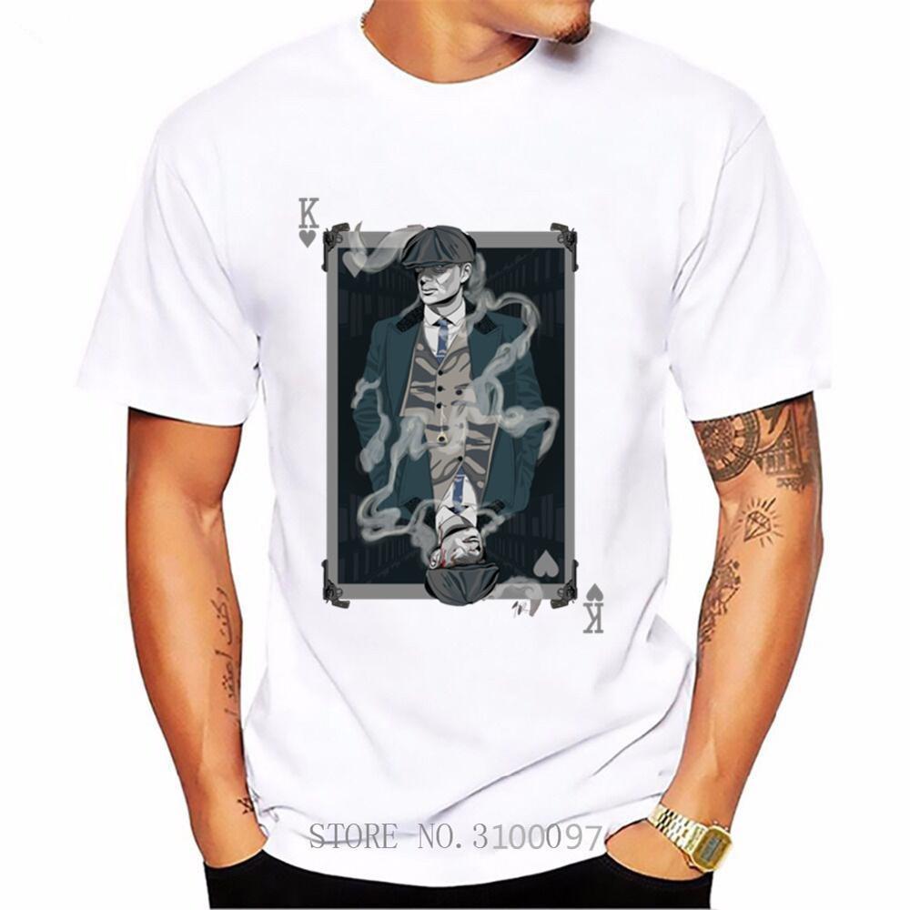 2020 Peaky Blinders hombres camiseta Shelby Brothers novedad camisetas de manga corta para hombres camisetas blancas mujeres hombres camiseta impresionante