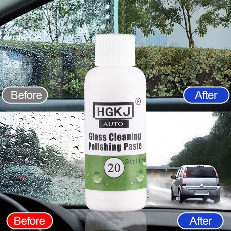 HGKJ 20-50ml vidrio automotriz Anti empañamiento gafas casco AGENTE DE desempañamiento agente de recubrimiento de cuero del coche cuidado eliminar