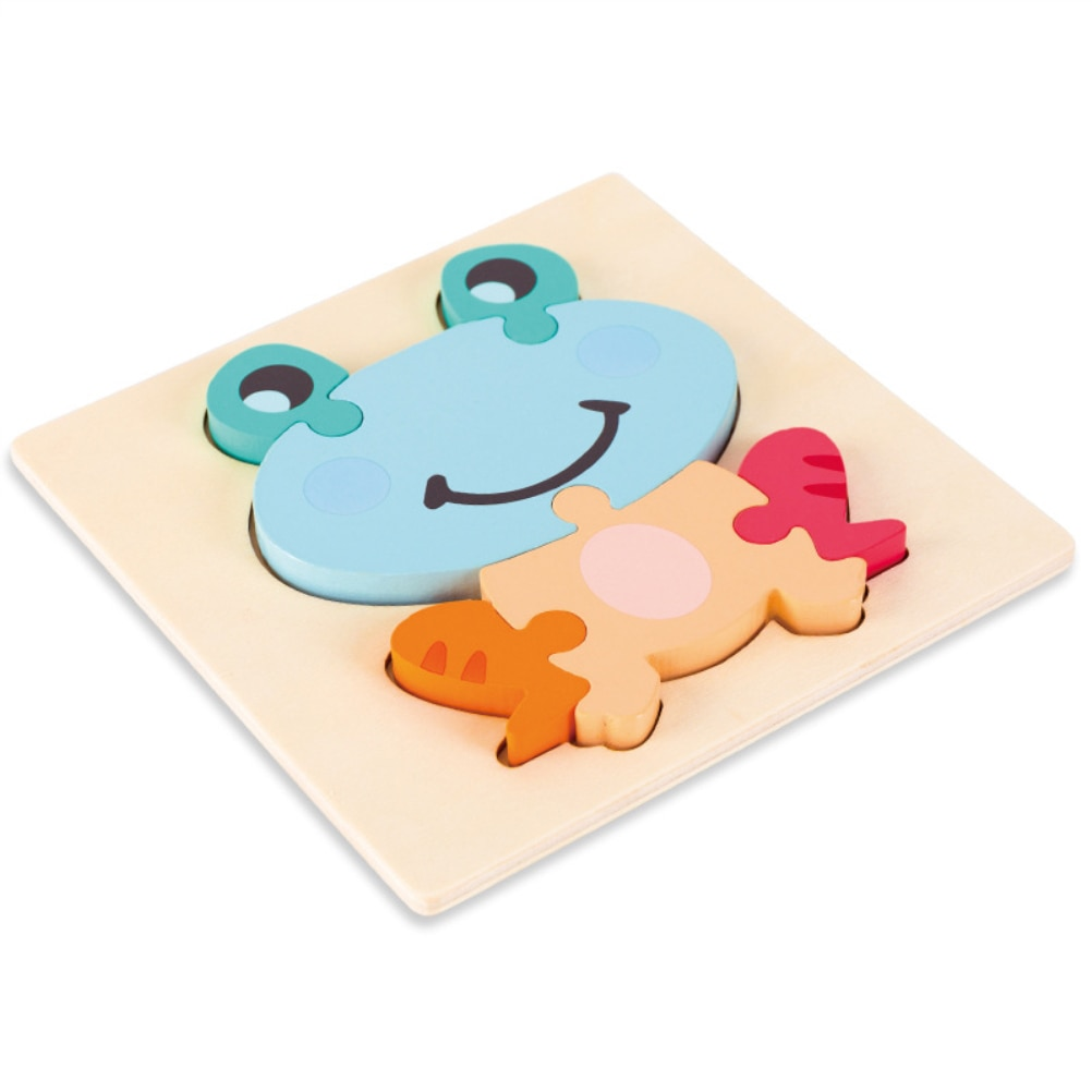 logwood baby wooden toys wooden block 26pcs learning educational toys for children animal words letter learn gifts for baby Baby Wooden Puzzle Children Tangram Shapes Learning Cartoon Animal Jigsaw Puzzles Educational Toys for Kids