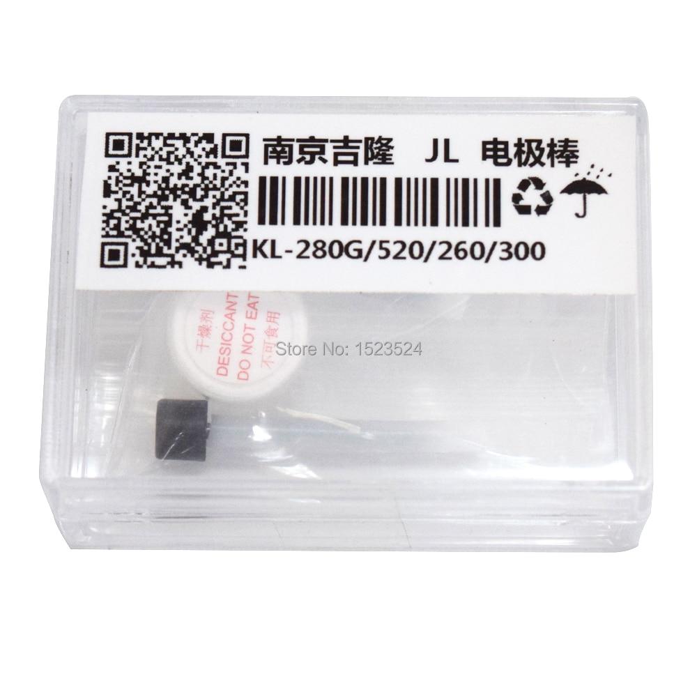 Frete Grátis 1 Par Splicer Da Fusão Eletrodos para Jilong KL-260B KL-260T KL-280 KL-280G KL-300 KL-520