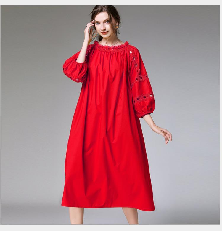 Comfortable plus-size dress