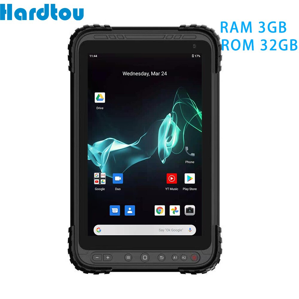 Rugged Tablet 8 inch android 10  IP67  Hardtou RAM 3GB ROM 32GB Ultra-thin body Industrial PC  LT83