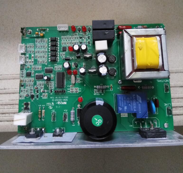 WNQ/máquina de correr F-3000N/F3000L placa principal de la computadora Placa de alimentación Tablero de Control controlador de tablero de circuito