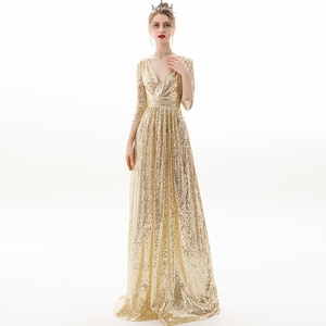 Lace Evening Dresses Long Ever Pretty  A-Line Sexy Appliques Elegant Women Evening Gowns Robe De Soiree 2019