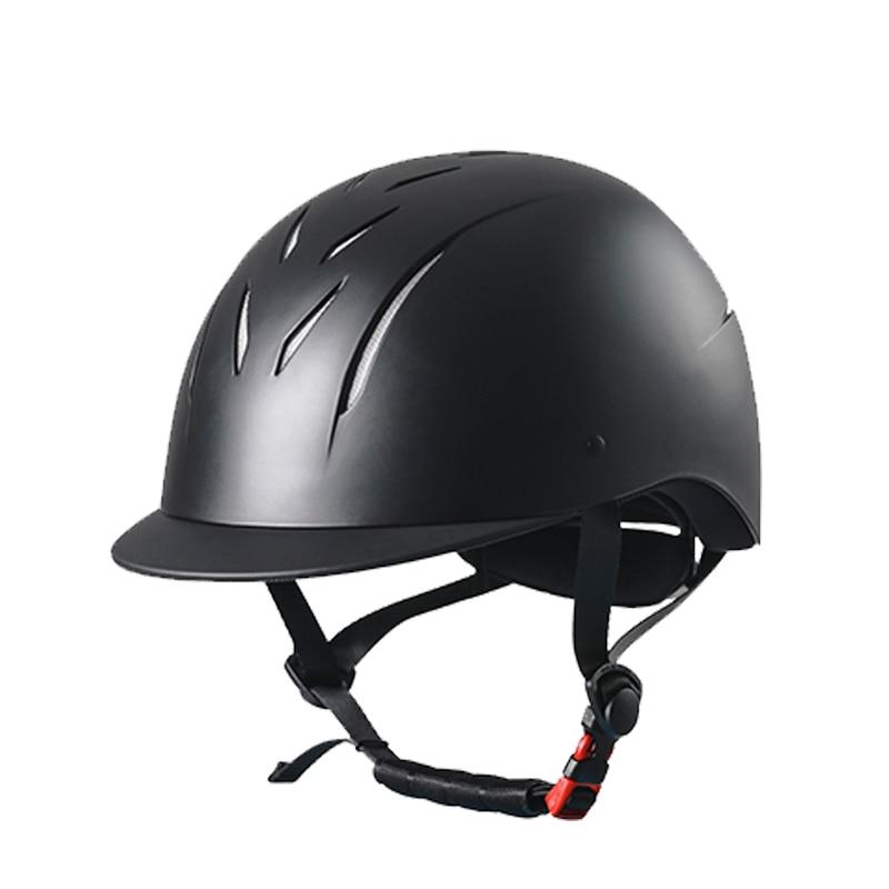 خوذة ركوب الخيل للرجال والنساء الفروسية عالية الجودة أسود قبعة ركوب الخيل خوذة رايدر رؤساء حماة المعدات