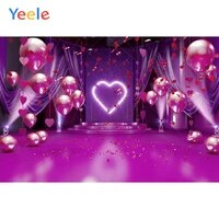 yeele wedding backdrop balloons love heart stage scene baby party decor photography background custom photocall for photo studio