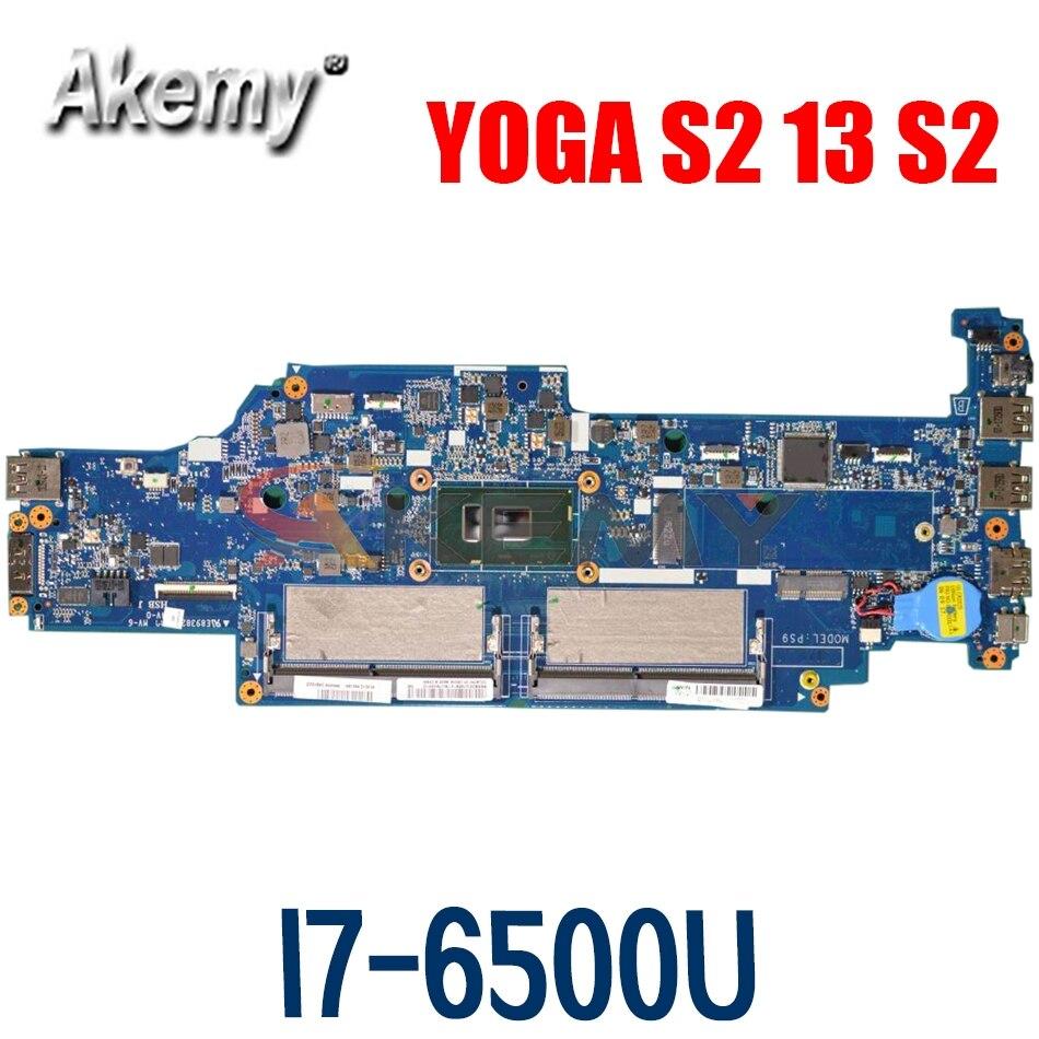 اللوحة المحمول لينوفو اليوغا S2 13 S2 i7-6500U النواة اللوحة DA0PS9MB8E0 DDR4