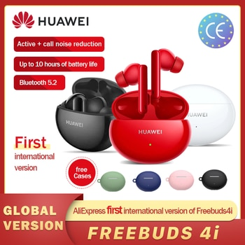 Global Version Huawei FreeBuds 4i 4 i Wireless Headphone Active Noise Call Reduction Bluetooth 5.2 Earphones Hot in Russia