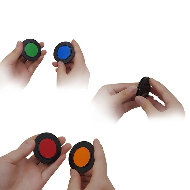 Chip Discolor Magic Tricks Change Chip Magical Tricks Magician Close Up Stage Illusions Gimmick Props Classic Toy For Comedy недорого