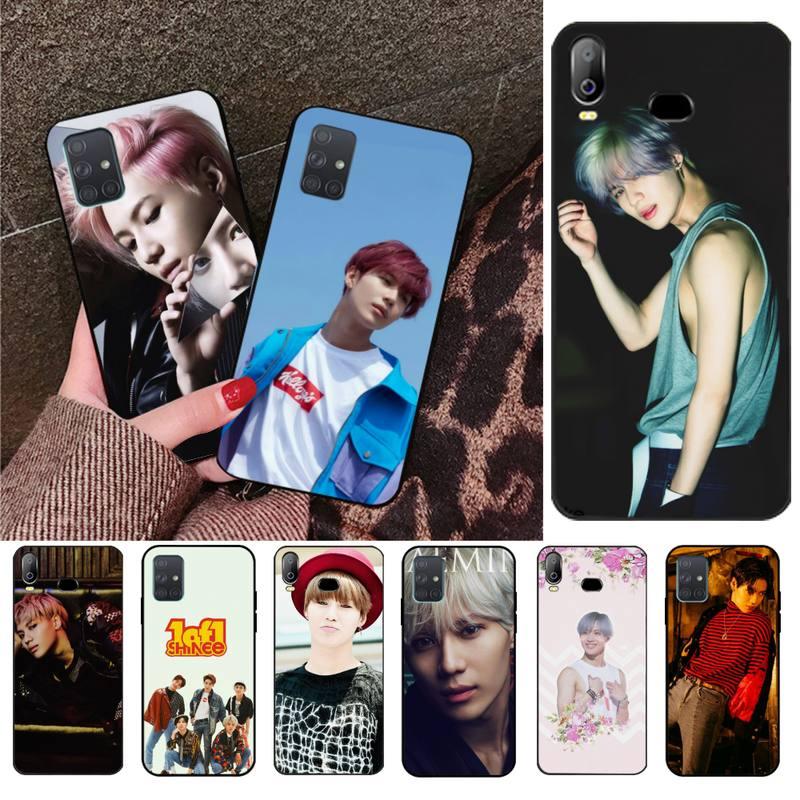 Kpop Shinee Taemin Coque Shell Caixa Do Telefone Para Samsung A10 A20 A30 A40 A50 A70 A80 A71 A91 A51 A6 A8 2018