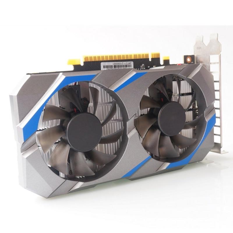 ألعاب NVIDIA GTX 1050 Ti 4GB GDRR5 PCI-E2.0 128 بت DVI-dمتوافق مع vgajhdmi