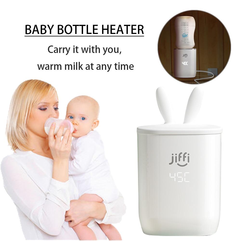 Baby Bottle Warmers USB Charging Bottle Heater Portable Milk Warmer For Warming Milk