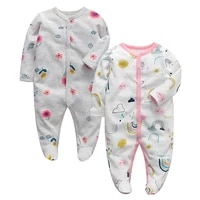 baby pajama newborn footed sleeper infant jumpsuit cotton long sleeve 3 6 9 12 months baby boys girls clothes