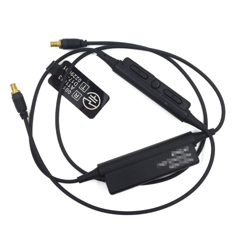 Fone de ouvido bluetooth a2dc cabo para ATH-LS50 ls70 cks1100 ckr90 ckr100 fones microfone controle volume lx9b