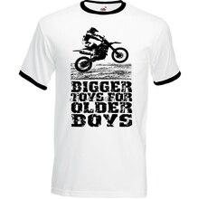 Juguetes más grandes de Motocross para hombre divertido camiseta de moto MotoX Dirt Bike Scrambler (3)