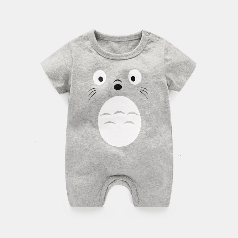New Summer Cotton Baby Romper Short Sleeve Infant Rompers Baby Boys Girls Jumpsuit Newborn Clothes Kids Clothing Toddler Outfits cotton newborn baby girl romper ruffle sleeve baby rompers winter baby girls clothes toddler girl romper infant jumpsuit p35