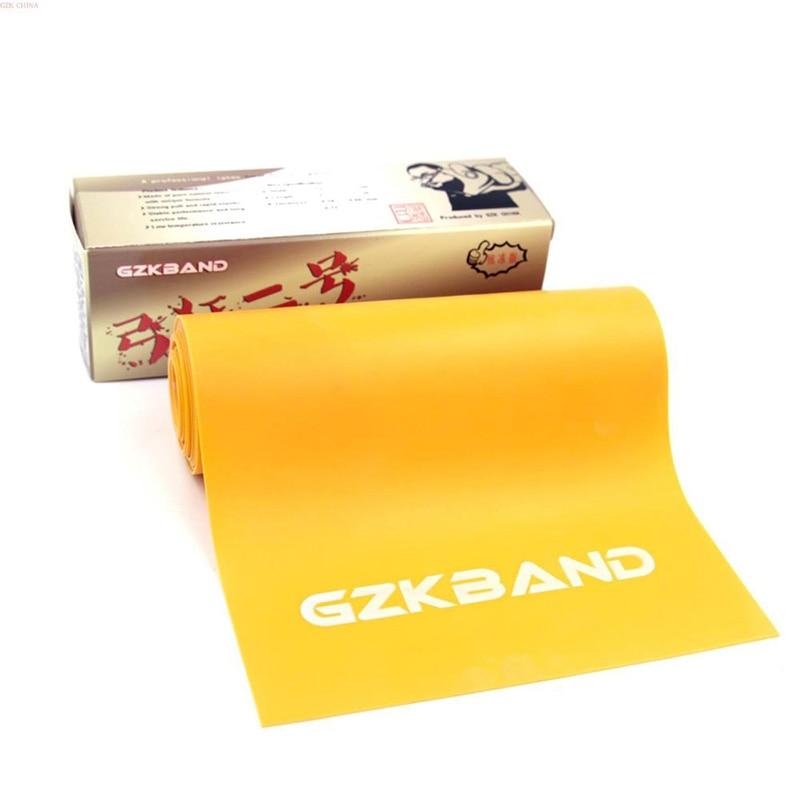 Tirachinas 2Mters * 15cm verde amarillo color negro GZK banda utilizada para DIY Honda caza tiro de catapulta