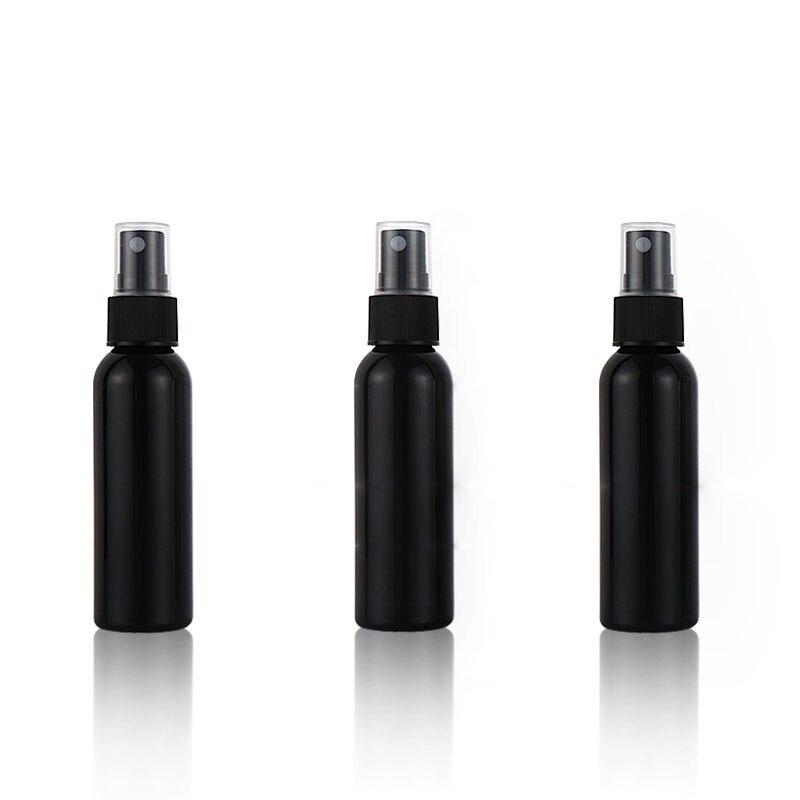 60 ml 48 pçs preto plástico portátil perfume spray garrafa vazio garrafas de perfume recarregável bomba de névoa perfume atomizador viagem