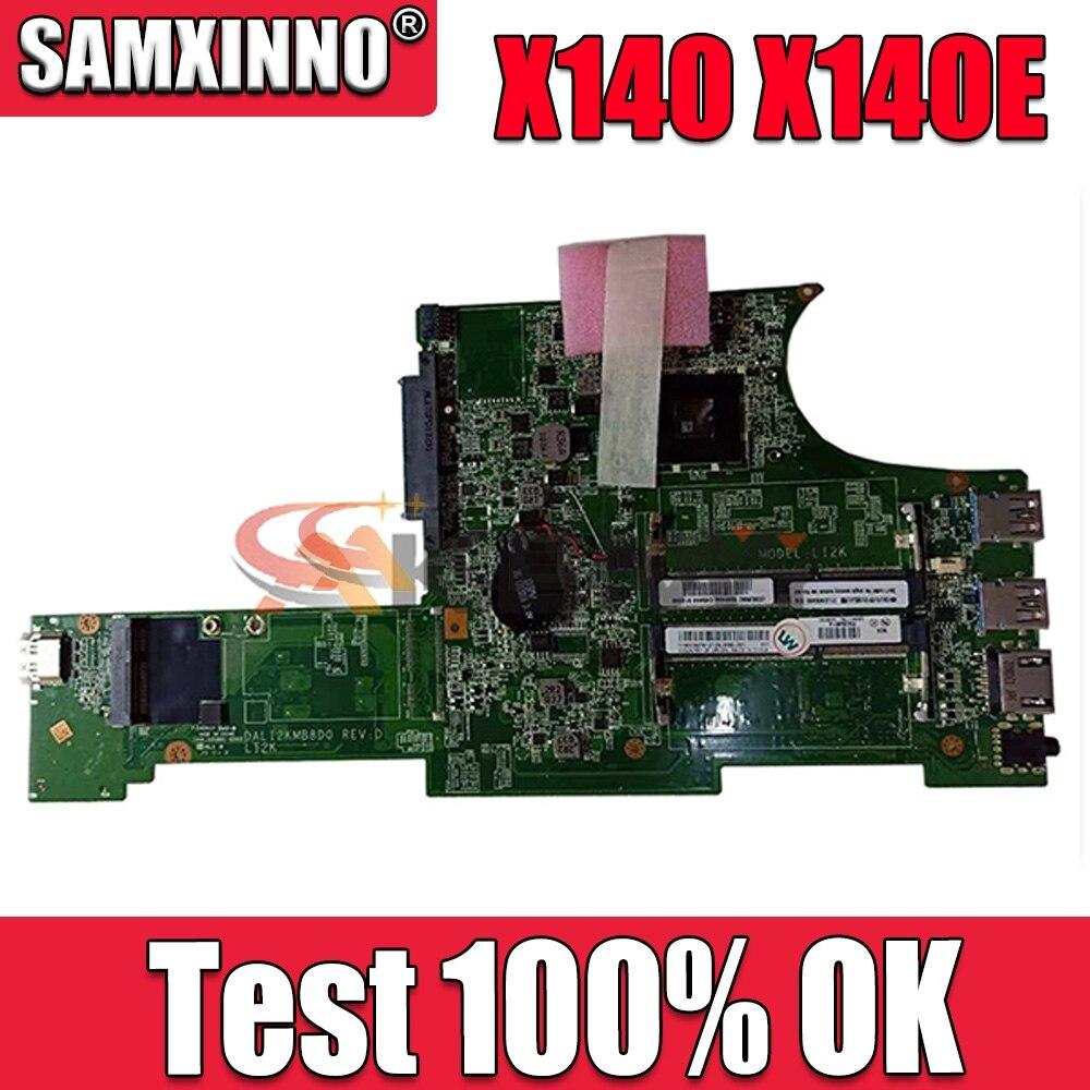 Akemy FRU 04X5385 DALI2KMB8D0 REV D لينوفو ثينك باد X140 X140E اللوحة المحمول DDR3