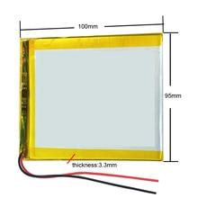 La mejor batería de la marca 3595100 3590100 3,7 V 5000mAh tableta de actualización de la batería para la tableta SmartQ T20 A86 Dual Core P85 U35GT DUAL C