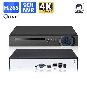 H.265 8 Channel NVR 4K Network Video Recorder 8CH CCTV Video Surveillance Recorder For IP Camera 4K 9CH NVR 5MP XMEYE HDD