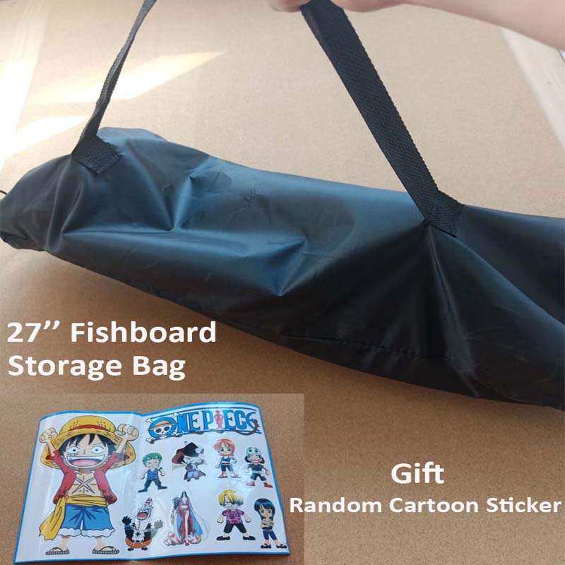68*26cm Mini crucero centavo Fishboard bolsa de almacenamiento portátil de los niños...
