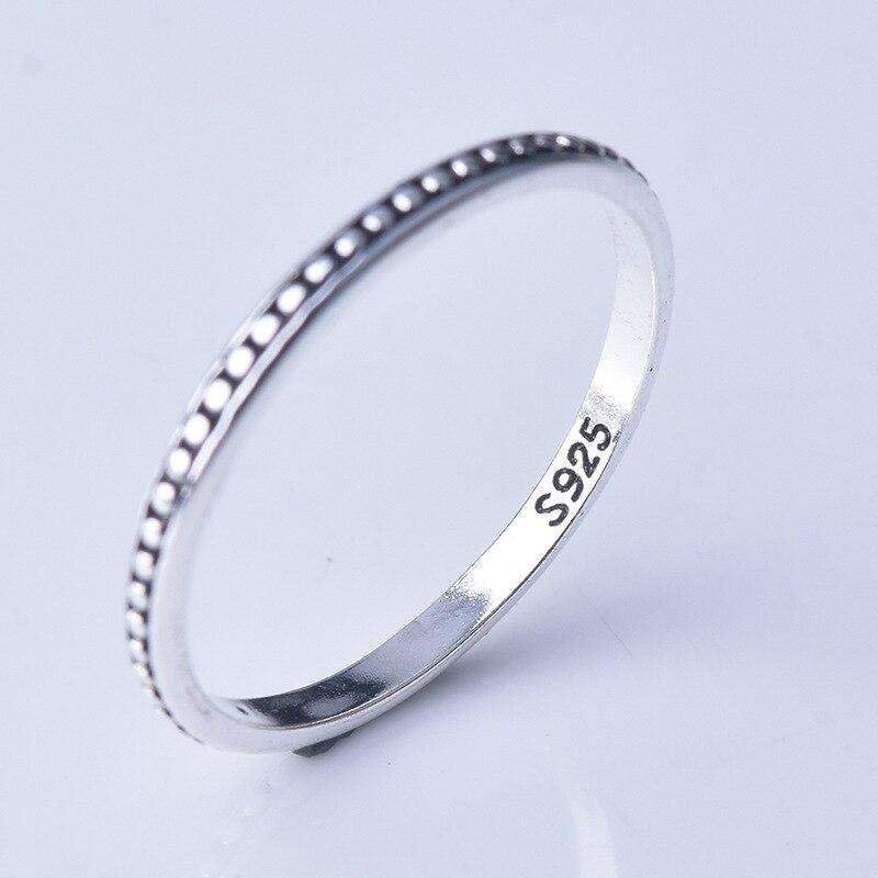 Anillo de artesanía clásica romana celta, anillos amuleto Vikingo, joyería nórdica, anillo de plata, anillo Simple 925