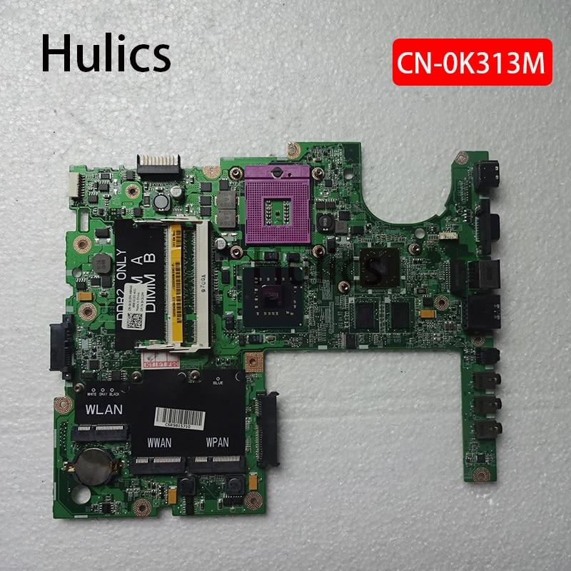 Hulics Original Für Dell Studio 1555 Laptop Motherboard CN-0K313M 0K313M K313M DDR2 DA0FM8MB8E0