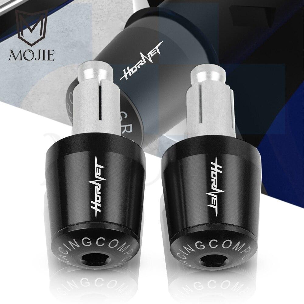Embout de barre de poignée 22mm pour HONDA, poignées de guidon, pour CB600F, CB600, CB599, CB900F, Hornet 250, 600, 900, CB500F, CB919