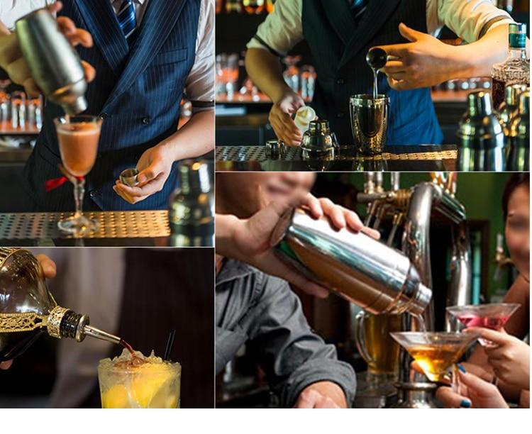 14-piece kit bartender cocktail shaker conjunto casa