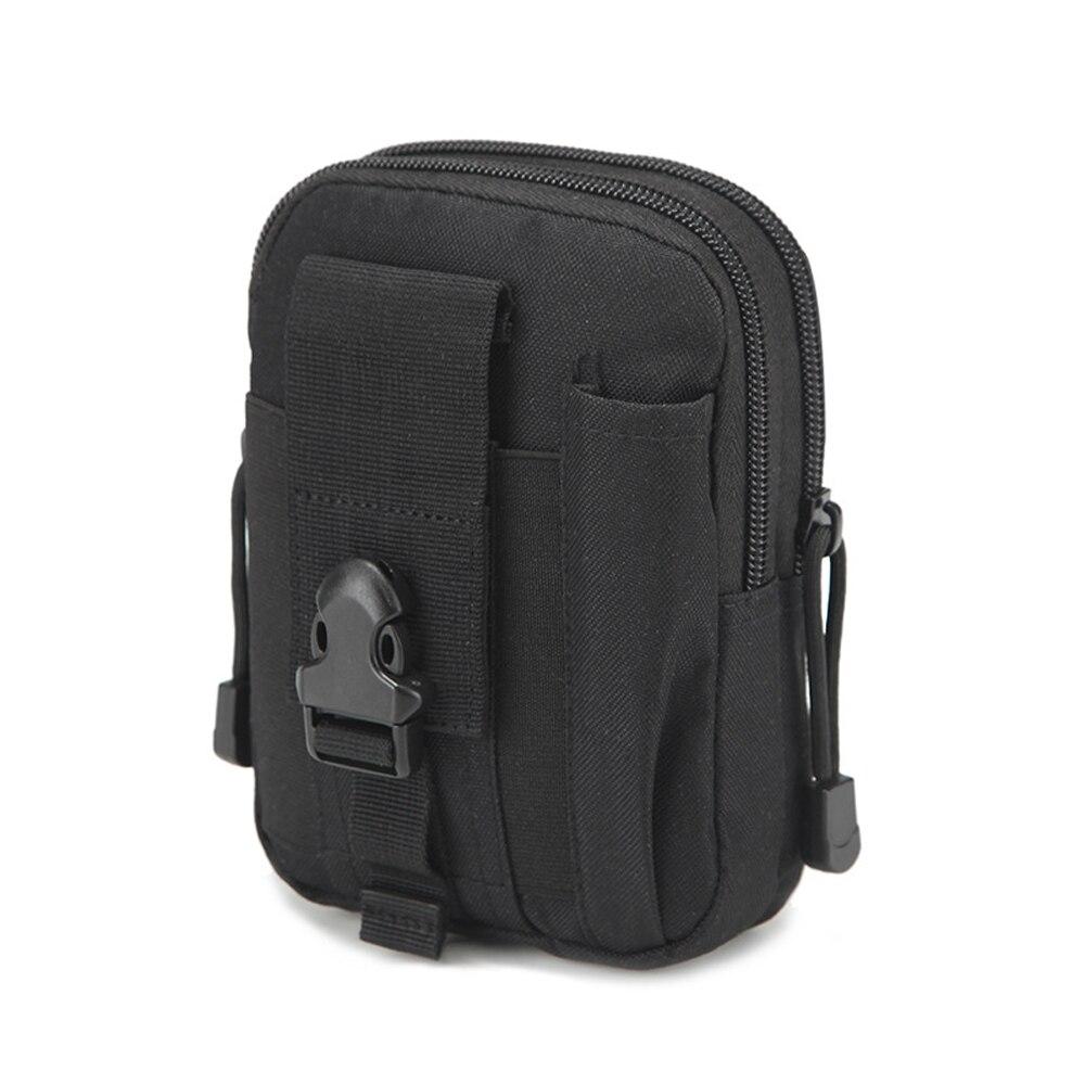 الرجال الخصر حزمة محفظة تربط حول الخصر الحقيبة حزام مقاوم للماء الخصر حزم مول النايلون الهاتف المحمول محفظة السفر أداة حقيبة الساق