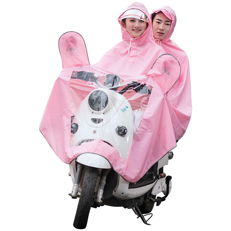Abrigo de lluvia para hombre y Mujer, Impermeable, con capucha, Talla Grande,...