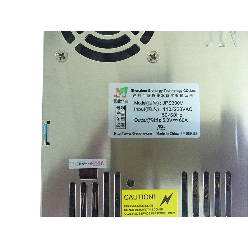 مزود طاقة بجهد تشغيل DC5V 60A 300W شاشة led عالية الجودة لوحدة إدخال led 110 ~ 220V P3 P4 P5 P6 P8 P10 ali express