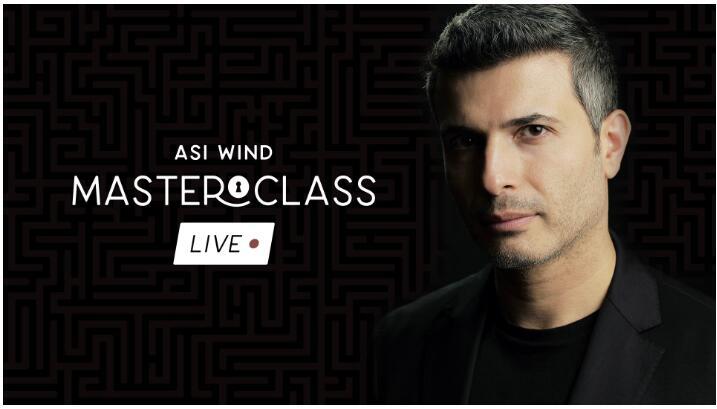 Asi Wind - Masterclass Live-Semana 1-Semana 2-Semana 3 trucos de magia