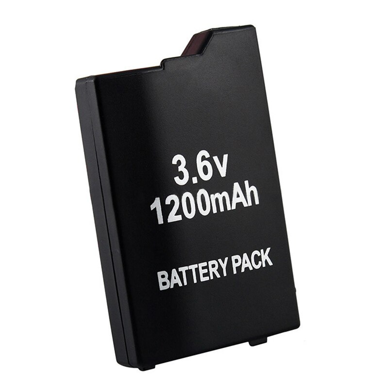 1pc 3.6V 1200mAh Replacement Battery for Sony PSP2000 PSP3000 PSP 2000 3000 PSP S110 Gamepad for PlayStation Portable Controller 4pcs 3 6v 2400mah psp 2000 batteries for sony psp2000 psp3000 console
