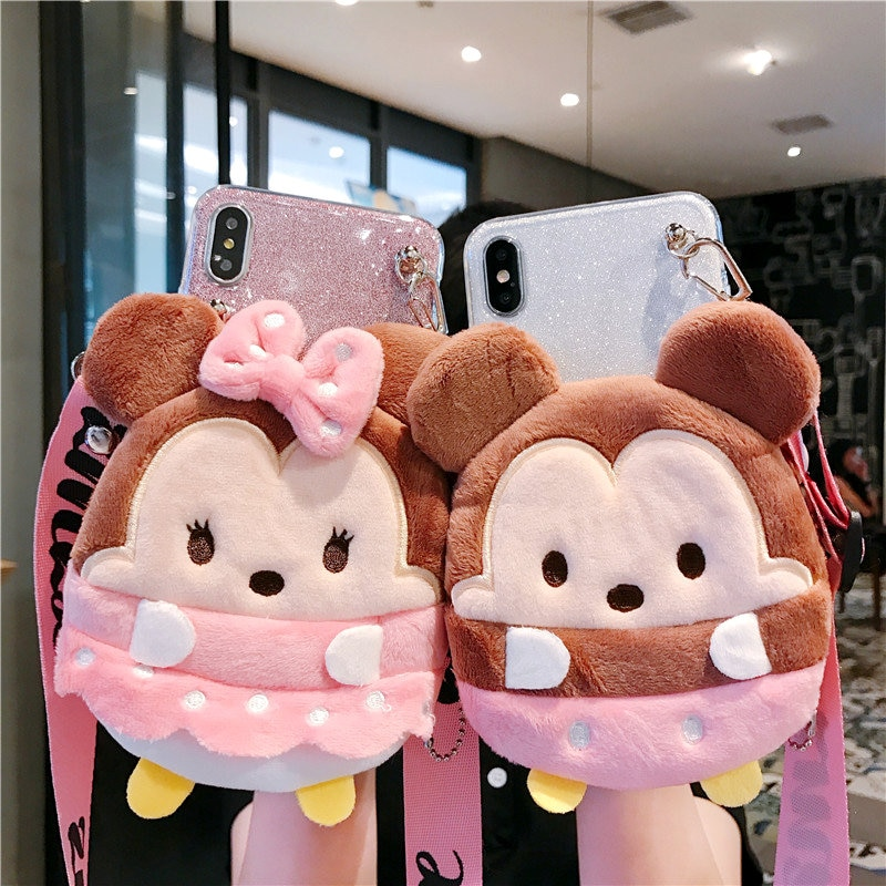 Muñeca de dibujos animados cartera caso para Huawei P30 P10 P20 P9 Y9 Nova 3i 3e 5i 4e Plus primer Lite Pro 2019 Mini 2018 disfrutar S 7S 7