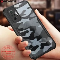 rzants for xiaomi redmi note 10 10s redmi note 10 pro max xiaomi poco m3 pro 5g 4g case hard camouflage shockproof slim cover