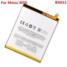 Batería Original para Meizu M5S M612Q M612M BA612 3000mAh reemplazo de batería de polímero de iones de litio